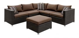 Abion Brown Collection 1821 Wicker Outdoor Sectional
