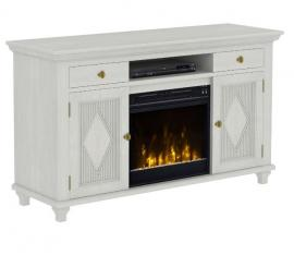 Classic Flame Electric Fireplace Baltic White by Twin Star 18CF7541-H438 TV Console