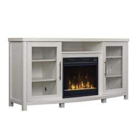 ClassicFlame Roseville White by Twin Star 18MM6036-PT85S TV Console