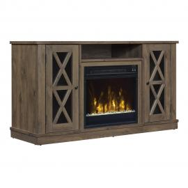ClassicFlame Spanish Gray by Twin Star 18MM6092-PI14S TV Console