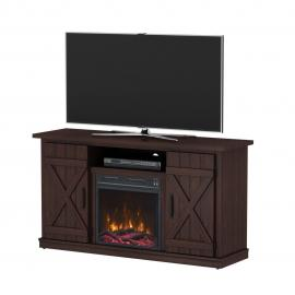 ClassicFlame Cottonwood Saw Cut Espresso by Twin Star 18MM6127-PD01S TV Console