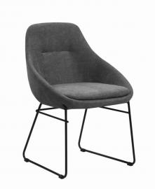 Dash by Scott Living Grey Fabric 190722 Dining Chair