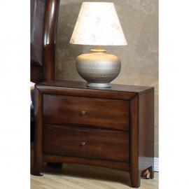 Hillary Collection 200642 Walnut Night Stand