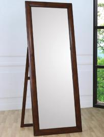 Walnut Frame Standing Mirror 200647 Collection