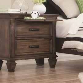 Franco Collection 200972 by Coaster Night Stand