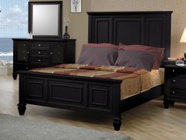Sandy Beach Collection 201321Q Queen Bed Frame
