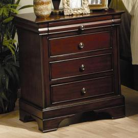 Versailles Collection 201482 Mahogany Night Stand