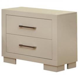 Jessica Collection 202992 White Night stand