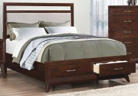 Carrington Collection 205041KW California King Platform Bed Frame