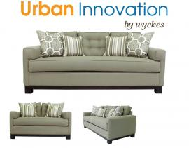 Cardiff 2130 Custom Sofa By Urban Innovation