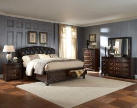 Wrenth Collection 2166-1 Traditional Platform Storage Bedroom Set