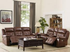 Clayton Collection 22-2228-PEN Picasso Penny Power Reclining Sofa & Loveseat Set
