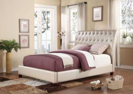 Pitney 22837 Tufted King Bed Frame
