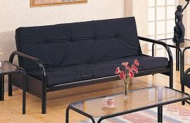 Rico Collection 2334 Black Metal Futon