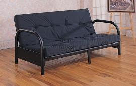 Rico Collection 2345 Black Metal Futon