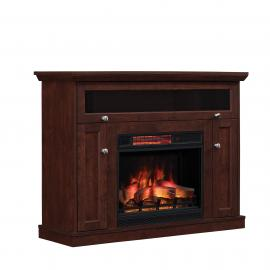ClassicFlame Windsor Antique Cherry Finish by Twin Star 23DE9047-PC81 TV Console