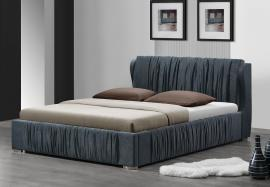 Hazlett 24740 Gray Platform Queen Bed Frame