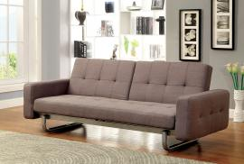 Bolton 2704 Brown Button Tufted Futon