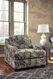Ashley 2850122 Gypsum Accent Chair in Charcoal