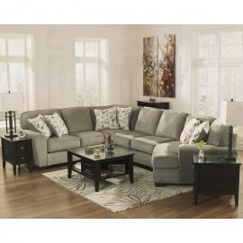 Patola Park by Ashley 12900 Patina Fabric Sectional Sofa