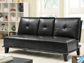 Johnson Collection 300138 Black Futon