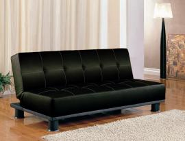 Ann Collection 300163 Black Futon