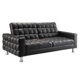 Sa Collection 300294 Split Back Brown Futon With Cup Holders