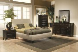 Phoenix 300369 Fabric Upholstery Bedroom Set