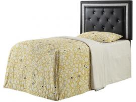 Coaster 300544T Black Leatherette Twin Headboard Only