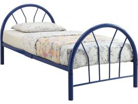 Silhouette by Acme 30450T-BU Blue Twin Bed Frame
