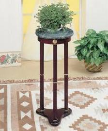 Merlot Finish 3315 Accent Table with Round Top
