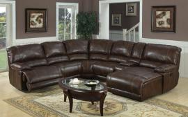 Wafford Collection 3352 Brown Reclining Sectional