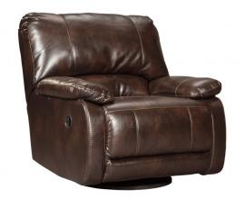 Hallettsville Saddle by Ashley 3530061 Swivel Glider Recliner