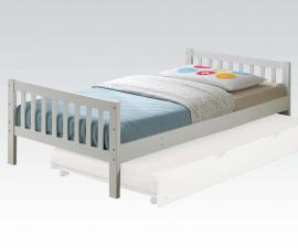 Cutie by Acme 37075T Espresso White Twin Bed Frame