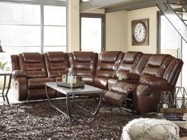 Walgast Espresso by Ashley 38101 Reclining Sectional