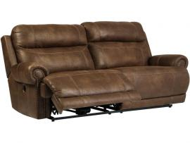 Austere Brown by Ashley 3840096 Power Reclining Loveseat