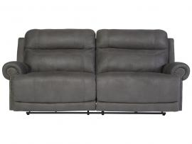 Austere Gray by Ashley 3840147 Power Reclining Sofa