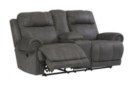 Austere Gray by Ashley 3840196 Power Reclining Loveseat