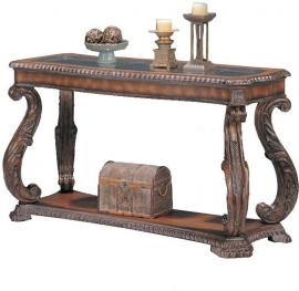 Coaster 3893 Antique Brown Sofa Table