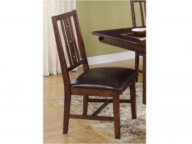 Madera 40-455-20 African Chestnut Dining Height Chair Set of 2