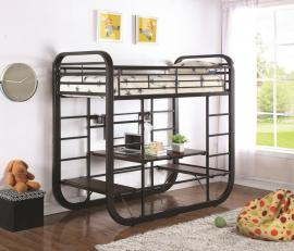 Archer Collection 400020T Convertible Workstation Twin/Twin Bunk Bed