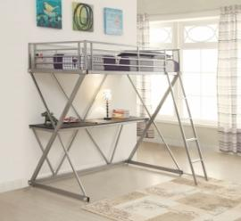 Armor Collection 400034T Twin Workstation Bunk Bed