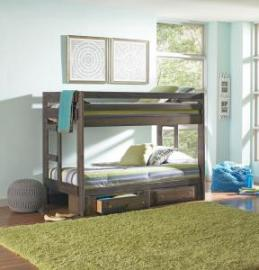 WRANGLE HILL 400831 TWIN/TWIN BUNK BED