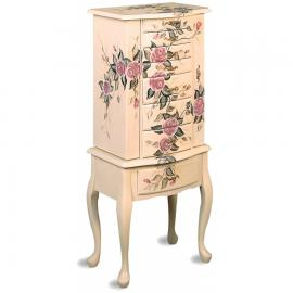 Floral Collection 4021 Jewelry Armoire
