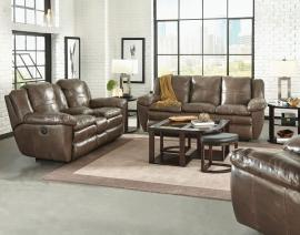 Aria Smoke Collection 419 by Catnapper Italian Leather Reclining Sofa & Loveseat