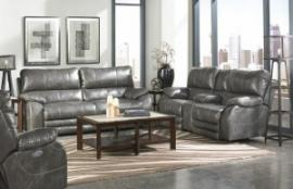 Sheridan Steel Collection 427 Power Reclining Sofa & Loveseat Set
