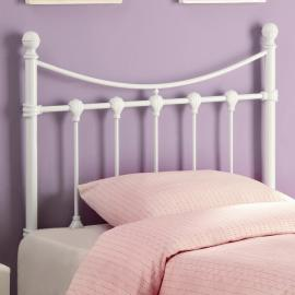 Becky Collection 450101T White Youth Headboard