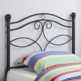 Becky Collection 450102T Black Youth Headboard