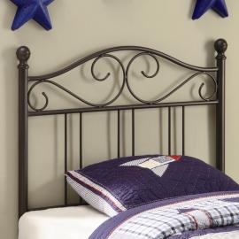 Becky Collection 450103T Brown Youth Headboard