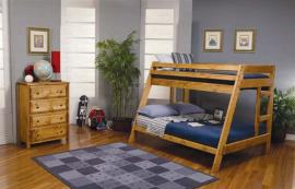 Floyd Collection 460093 Twin/Full Bunk Bed